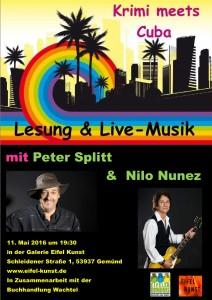 Aktuelles Plakat Peter und Nilo